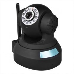 H.264 HD Surveillance IP Camera (Black)