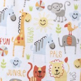 Halo Sleepsack Jungle Pals Swaddle (Yellow) - thumbnail 3