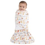 Halo Sleepsack Jungle Pals Swaddle (Yellow) - thumbnail 2