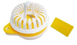 Happy Nibbles Microwaveable Chip Maker (Yellow)