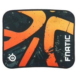 Hardcore Gaming Mousepad Braided Fnatic 30x25 (Orange/Black)