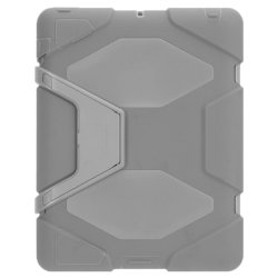 Heavy Duty Shockproof Case for Apple iPad Air 2 (Grey)