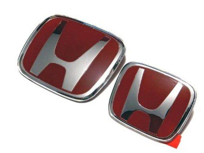 Honda Civic FD 2006-2011 Emblem (Red)