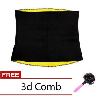 Hot Shaper Belt (Black) with Free 3D Spherical Comb - picture 2