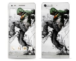 Huawei G6 Dance Pattern 1 Phone Skin Cover by OddStickers