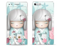 Huawei G6  White Girl  Pattern 1 Phone Skin Cover  by OddStickers