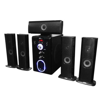 Hug Music Heaven H28-601 Home Theater Speakers (Black)