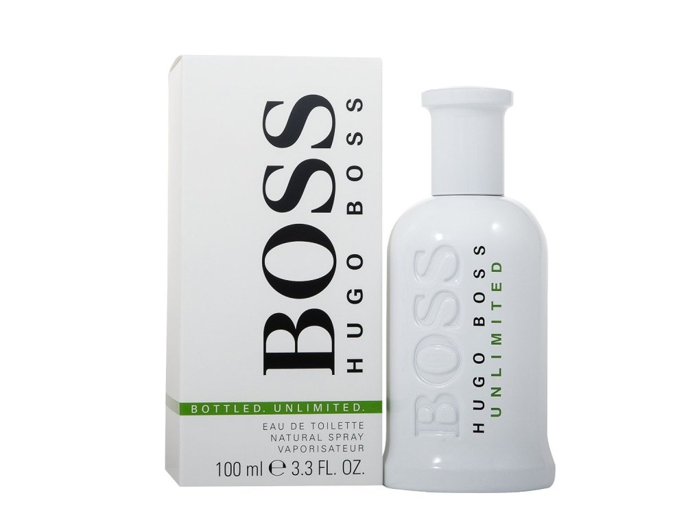 Hugo Boss Unlimited Eau De Toilette for Men 100 ml