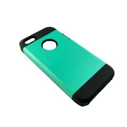 Hybrid Armor Case for iPhone 5C (Cyan)