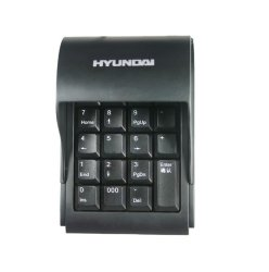 Hyundai Numerical Keyboard with Cover (Black)