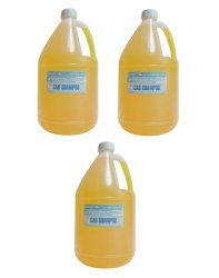 iChem CRS, Car Shampoo Yellow (Gallon) Set of 3
