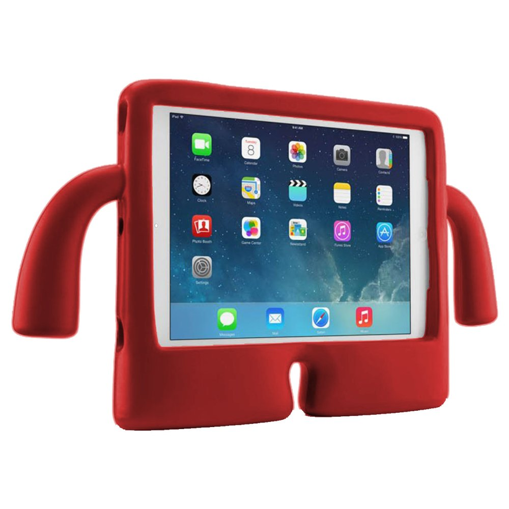 iGuy Kids Protective Case for Apple iPad Air/Air 2/iPad 5/6 (Red) product preview, discount at cheapest price