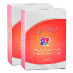 Illuminous White Papaya Whitening Soap 135g, Pack of 2