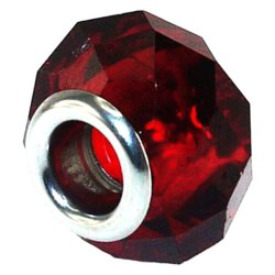 Imono Steel Jewelry 201ISP Charm (Red)