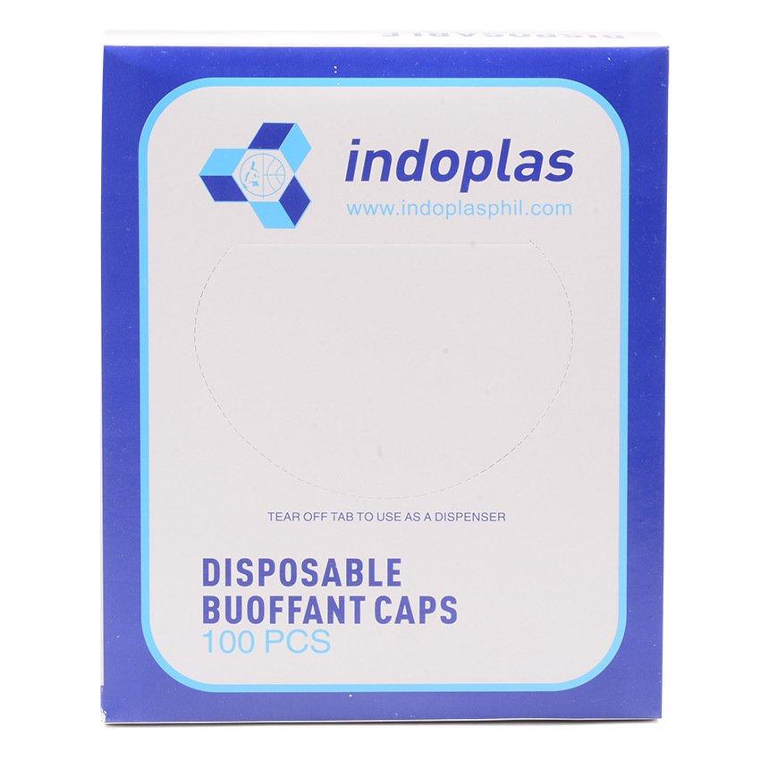 Indoplas Disposable Buoffant Caps Box of 100 - thumbnail ...