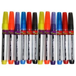 Ink Tank Assorted Highlighter and Permanent Marker Set of 12