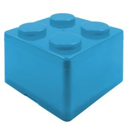 Inspire Small Creative Brick Storage Box (Blue)