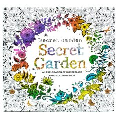 Inspire Zen Secret Garden Anti Stress Coloring Book