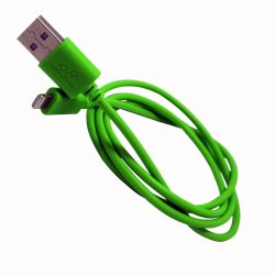 Limhong Round USB Cable for iPad mini 3 (Green)