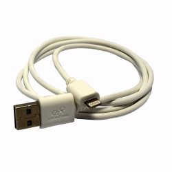 Limhong Round USB Cable for iPad mini 3 (White)