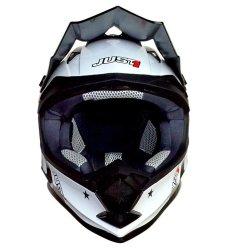 Just 1 by Nitek  Motard 0006 Motorstar Agent Helmet (Orange)