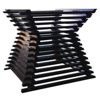 Katherine Base 6-seater Table (Black Wenge)