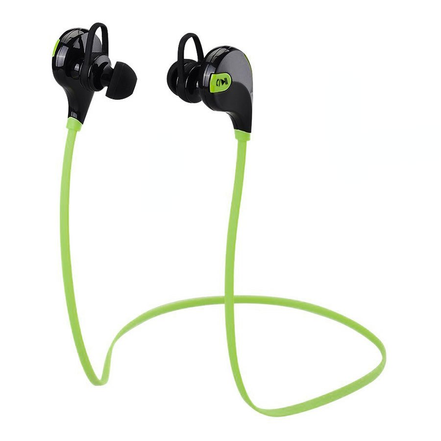 KDS Universal Stereo Bluetooth Headset (Black/Green) product preview, discount at cheapest price