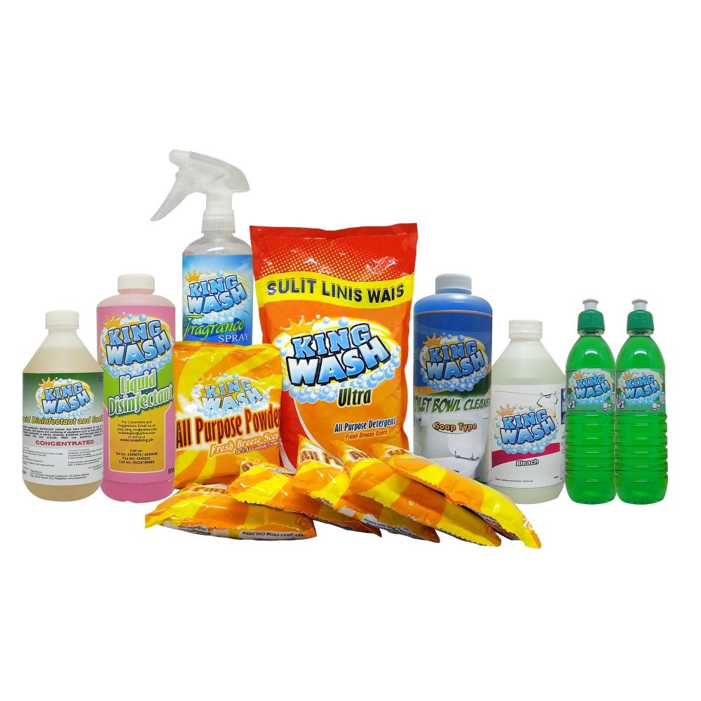 KINGWASH Household Cleaning Set product preview, discount at cheapest price