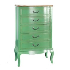 Furniture Provence Style Dresser Green