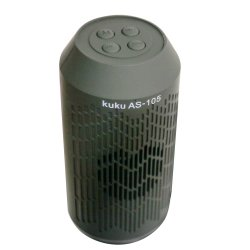 Kuku AS-105 Mini Bluetooth Speaker (Black)