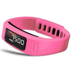 Large Replacement Wrist Band w/Clasp for Garmin Vivofit Bracelet (No Tracker) Pink S