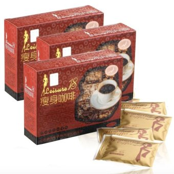 Leisure 18 Slimming Coffee Set of 3