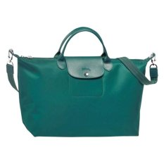 Longchamp Le Pliage Neo Tote Bag (Emerald Green)