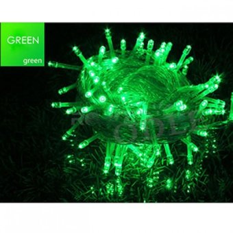 Mabuhay Star 100 LED String Christmas Lights (Green)