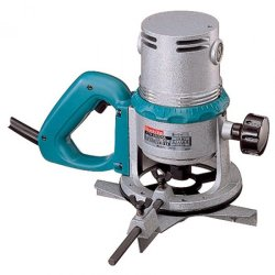 "Makita 3600H "" (2HP) 1500W Router (Blue/Silver)"