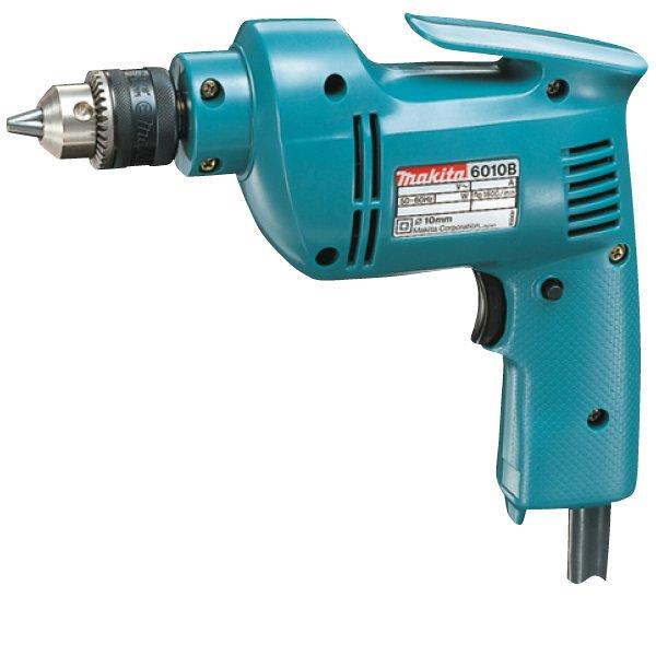 "Makita 6010BVR 3/8"" 305W Hand Drill (Blue)"