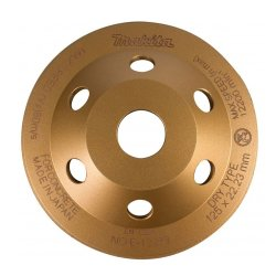 "Makita B-12289 5"" Offset Diamond Wheel Blade  (Gold)"
