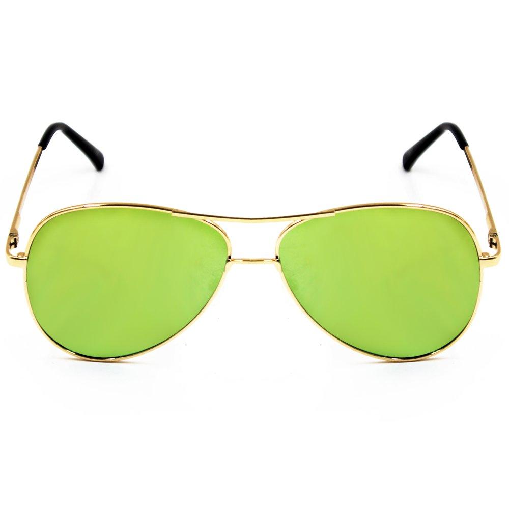 Maldives Kris Sunglasses 1601 (yellow/Green) - thumbnail