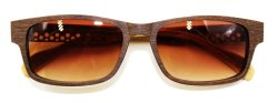 Maple Wooden Shades (Brown)