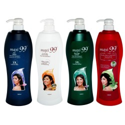 Maxi 99 Shampoo Assorted Set of 4 1000ml