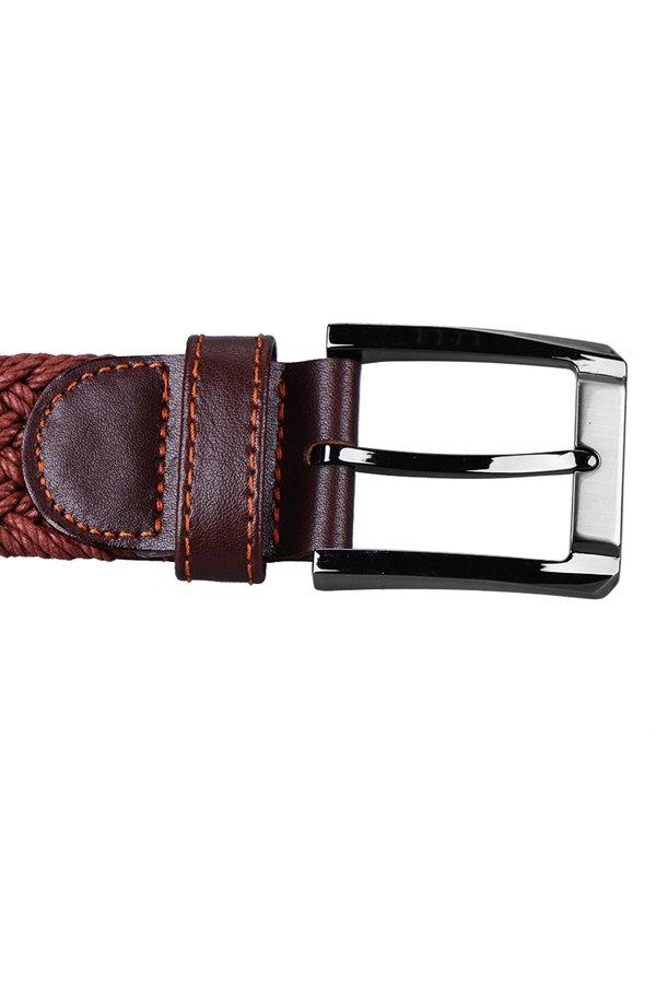 McJIM 42-316 Braided Belt (Brown)