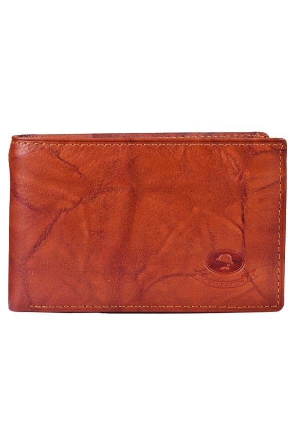McJIM W-28-2001 Junior Size Wallet (Tan)