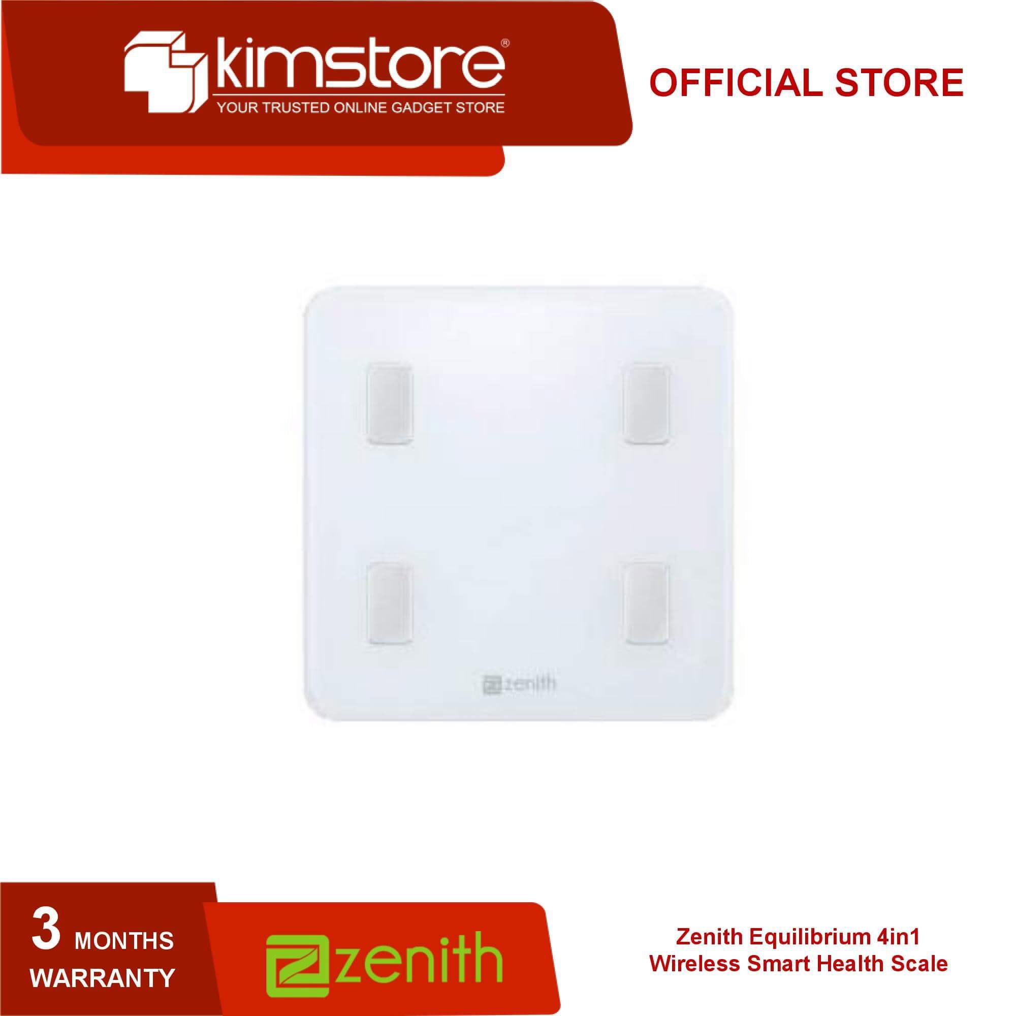 Zenith Equilibrium 4in1 Wireless Smart Health Scale