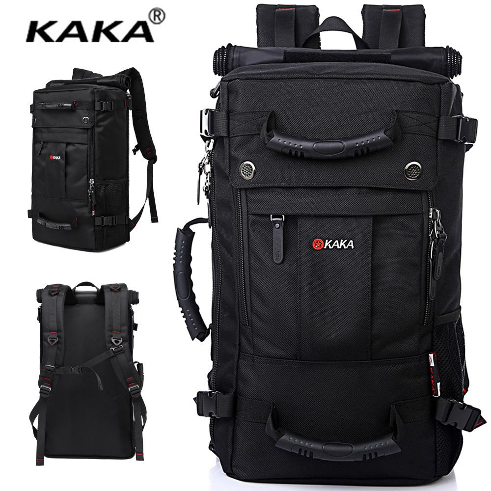154dea16c KAKA Travel Bag for 17-Inch Laptop Backpack Large Capacity Waterproof Backpack  Luggage Bag Men
