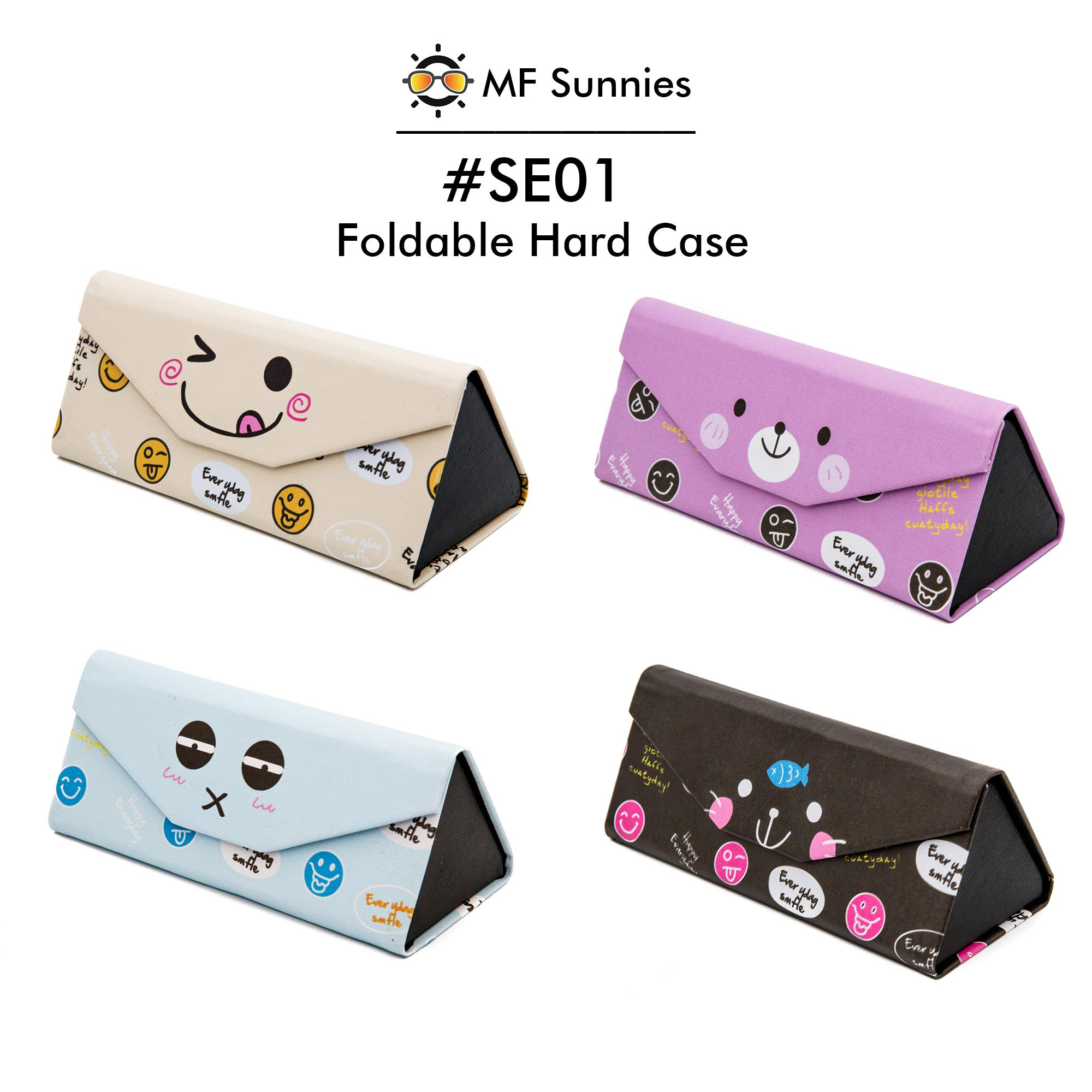 Women's Glasses Inventive 5 Colors Zipper Colorful Cover Sunglasses Case For Girls Glasses Box With Lanyard Eyeglass Cases For Women Men