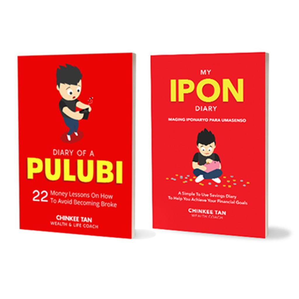 My Ipon Diary And Diary Of Pulubi Combo By Skincareforlessph.