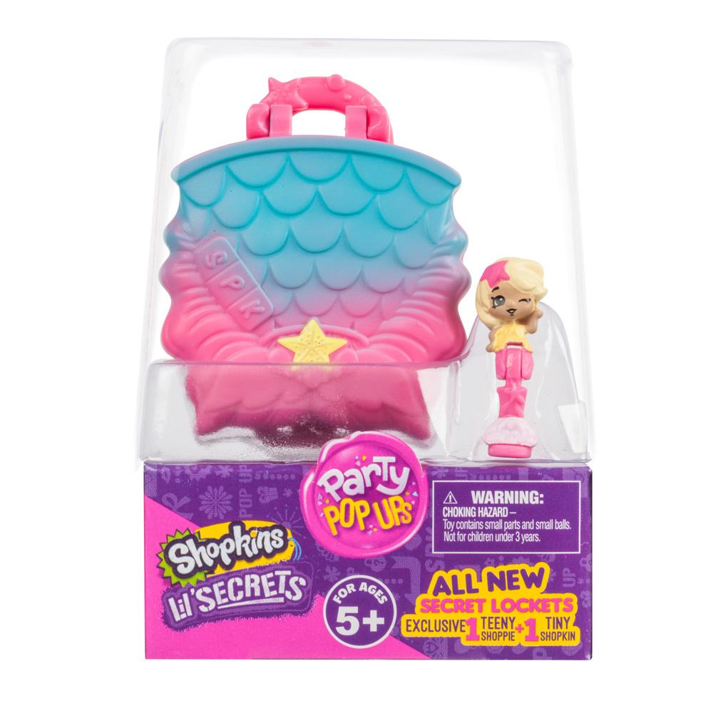 90a68f27551 Shopkins Lil  Secrets 2-Pack Locket Party Pop Ups S2 - Mermaids Adventure