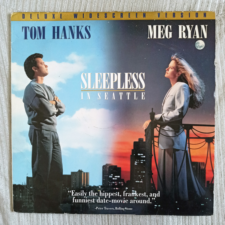 Sleepless In Seattle 1993 Tom Hanks Meg Ryan Romantic Comedy Laserdisc Movie Lazada Ph