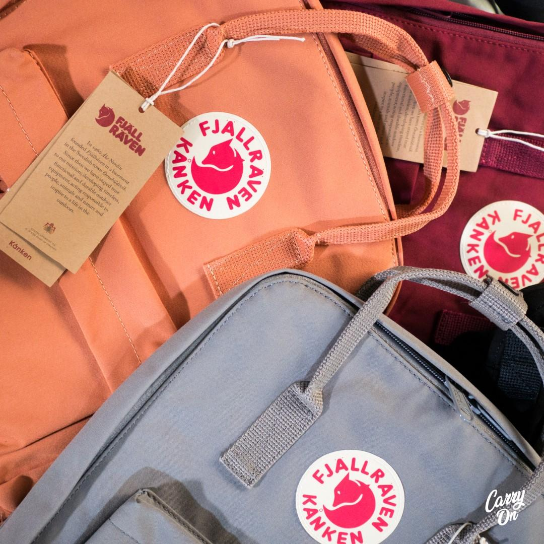 Fjallraven Kanken Classic Backpack-All Colors