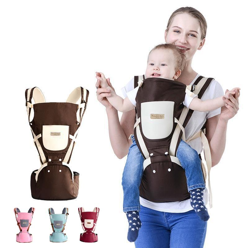 5296a84a83c BAONEO 3-36 Months Breathable Multifunctional Ergonomic Baby Carrier Infant  Comfortable Sling Backpack Hip seat